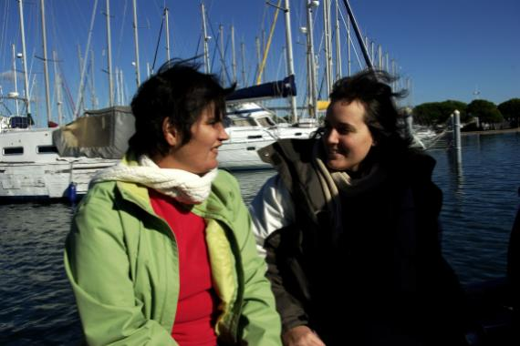 Christel et Marie - Port Camargue
