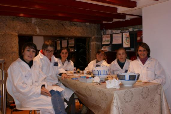 L'équipe du Café-boutique Katimavik