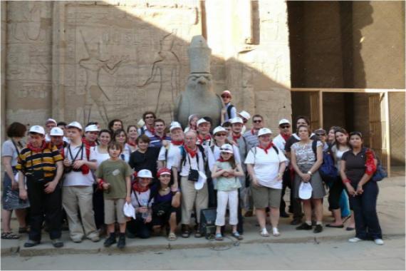 Voyage en Egypte pour fêter les 30 ans de L'Arche à Paris