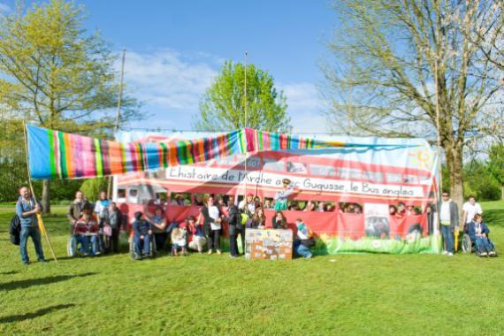 L'Horizon à la fête de famille des 50 ans de L'Arche - mai 2014