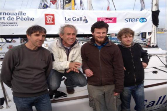 Serge, Roland Jourdain, Christophe, Jimmy avril14