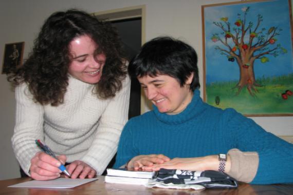 Sylvie et Anne-Cécile