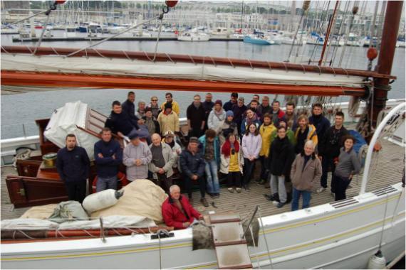Viree en mer pour les 10 ans de l'association