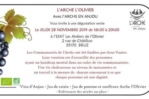 arche-olivier-degustation-vente-produits-arche-anjou-vin-jus-confiture-2019