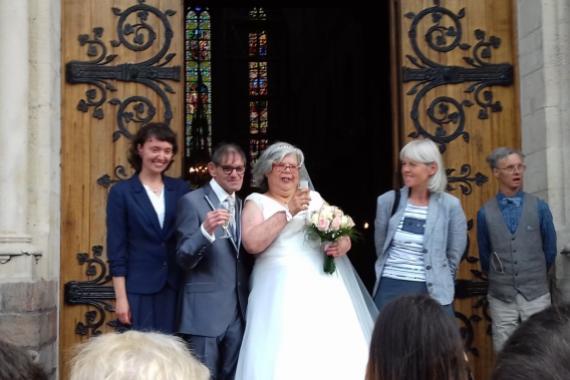 Handicap et mariage, c'est possible