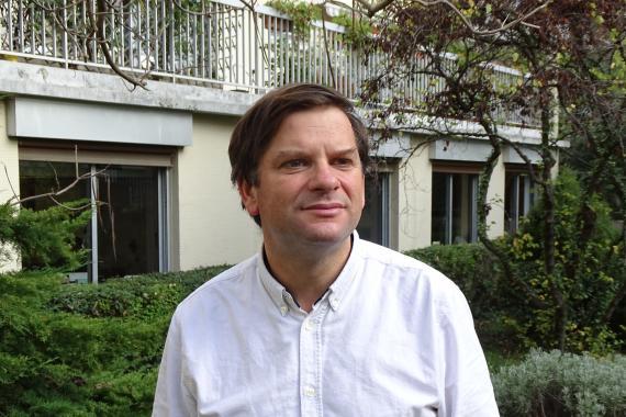 Pierre Jacquand, responsable de L Arche en France