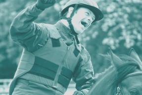 affiche du chamionnat de france équitation sport adapté handicap mental