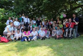 La communauté au Puy du Fou, juillet 2014