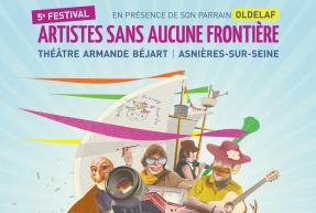 Affiche Artiste sans aucune frontière, les 24 et 25 juin à Asnières-sur-Seine