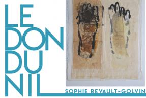 affiche expo don du Nil Sophie Revault-Golvin L'Arche Aix