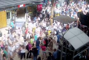 l'arche flashmob gare de marseille