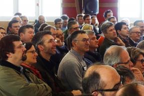 public des assises régionales EDC