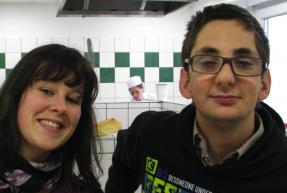 Eléonore et Julien en cuisine